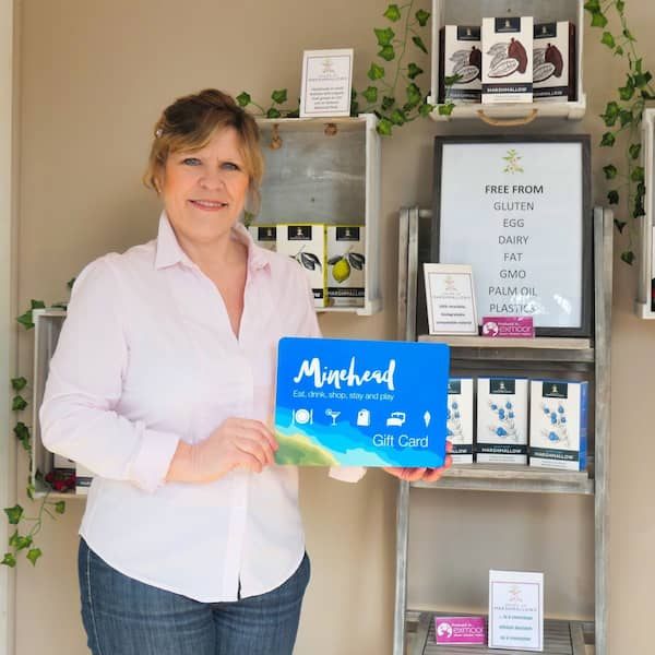 Janet Thompson, the founder of Grown Up Marshmallows